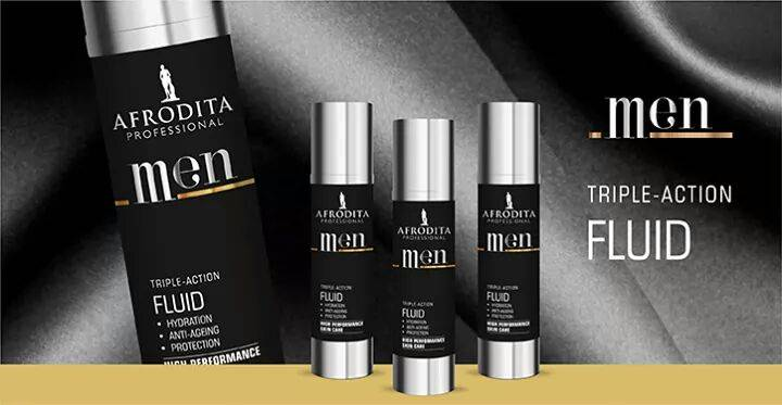 Afrodita Men - triple-action fluid